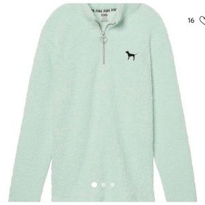 Vs Pink mint green sherpa